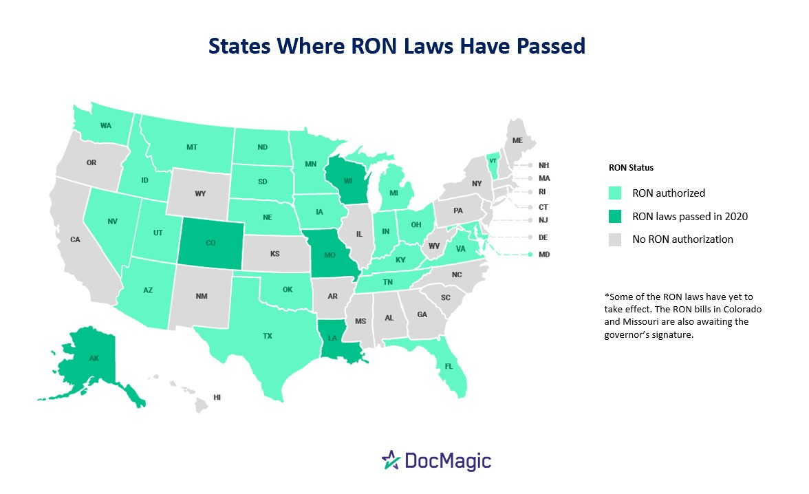 Three new states recently passed permanent RON laws, for a total of 27 states with such laws.