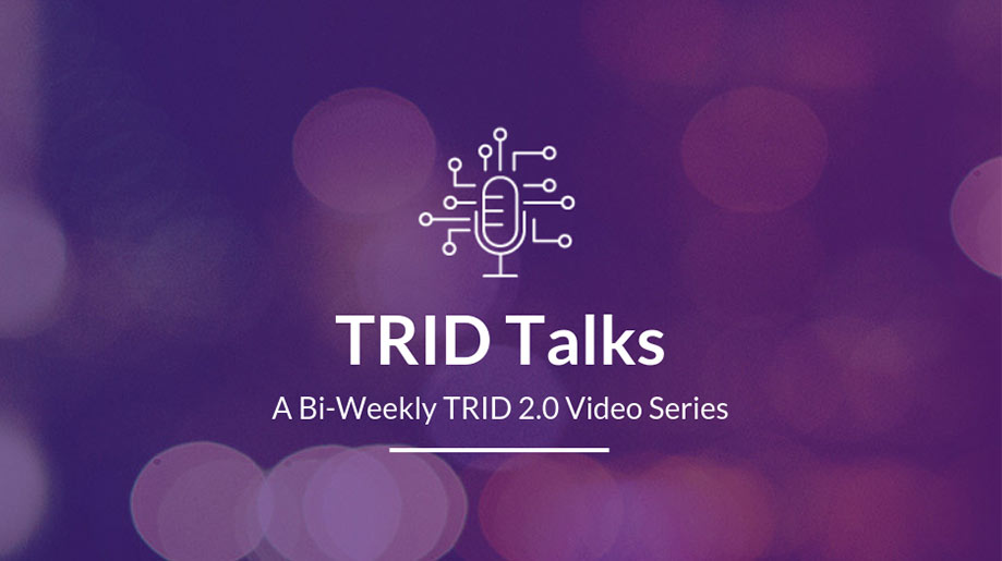 TRID 2.0 video series