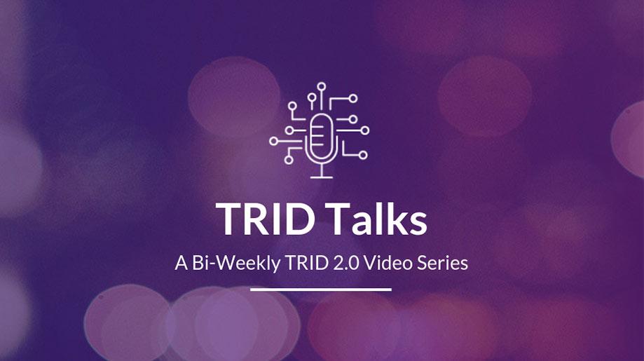 TRID 2.0 video series