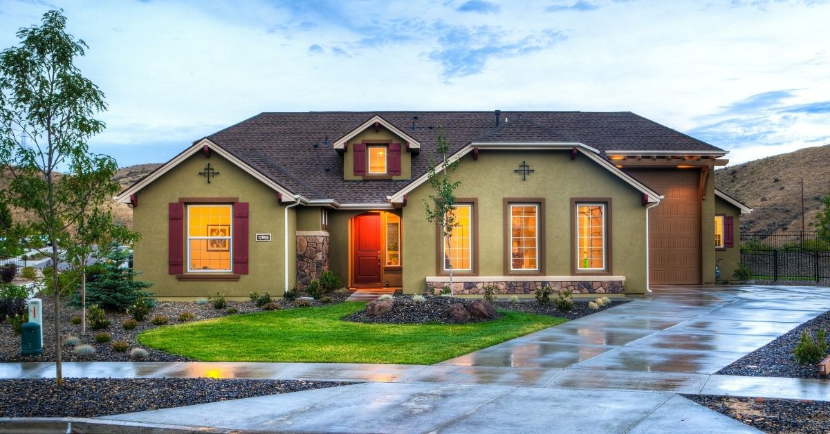 A home is on display. New lender MortgageCountry is thriving amid the pandemic, thanks to its distributed business model and technology partners.
